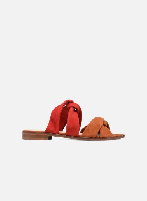 Sandales et nu-pieds Anaki VEGAS Rouge vue derrière