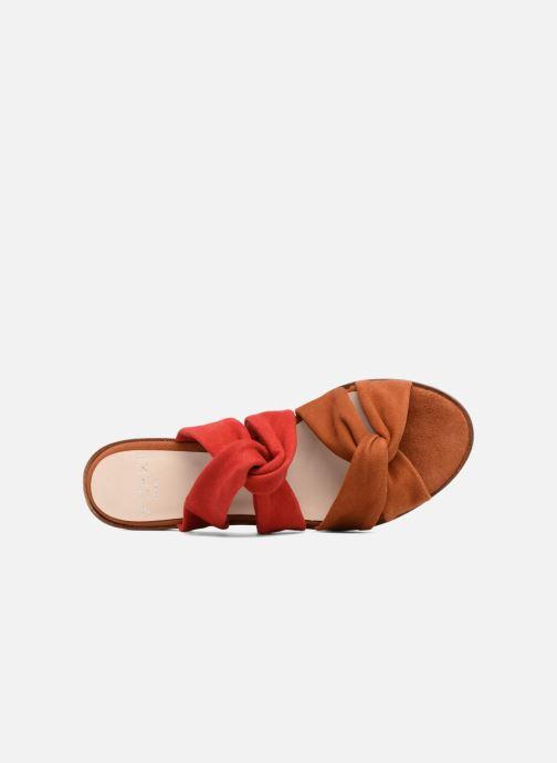 Sandales et nu-pieds Anaki VEGAS Rouge vue gauche