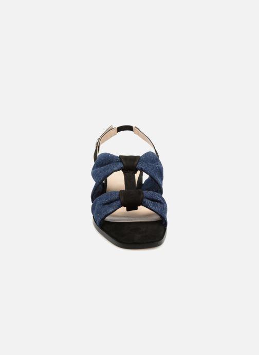Sandales Golden Daim Noir pieds Jean Nu Anaki Et PXukZi