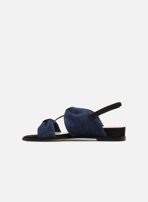 Sandales et nu-pieds Anaki GOLDEN Bleu vue face
