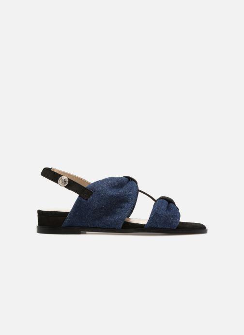 Sandales et nu-pieds Anaki GOLDEN Bleu vue derrière