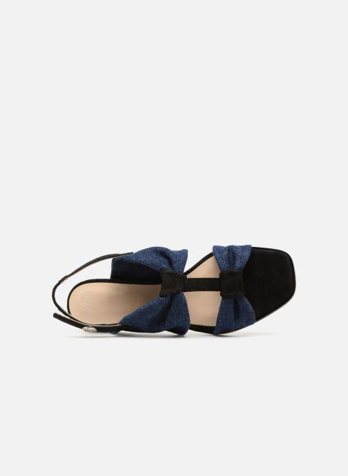 Sandales et nu-pieds Anaki GOLDEN Bleu vue gauche