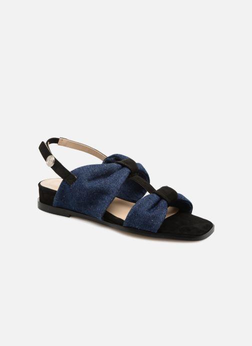 Sandales et nu-pieds Anaki GOLDEN Bleu vue détail/paire