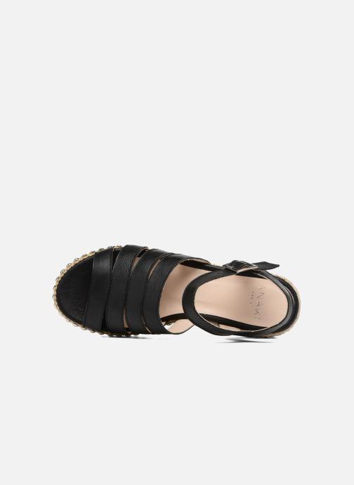 Sandales et nu-pieds Anaki NEVADA Noir vue gauche