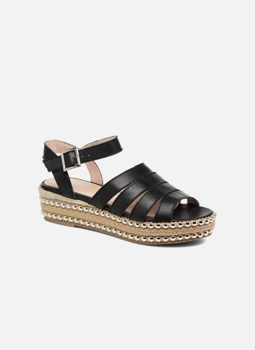 Sandales et nu-pieds Anaki NEVADA Noir vue détail/paire
