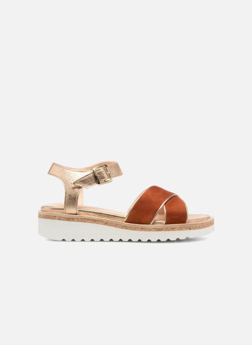Sandales et nu-pieds Anaki RIMA Marron vue derrière