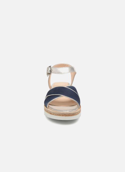 Sandales et nu-pieds Anaki RIMA Bleu vue portées chaussures