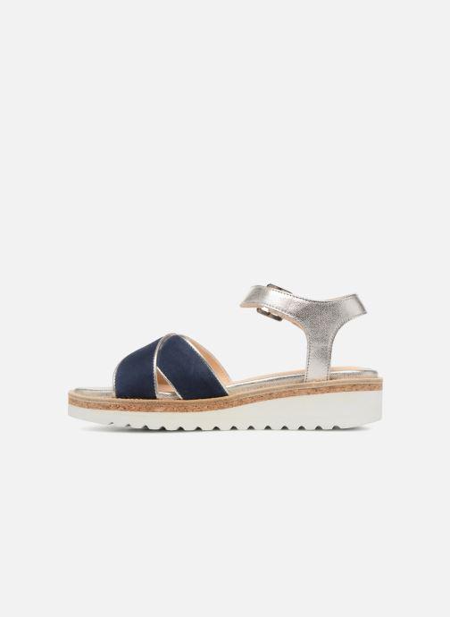 Sandales et nu-pieds Anaki RIMA Bleu vue face