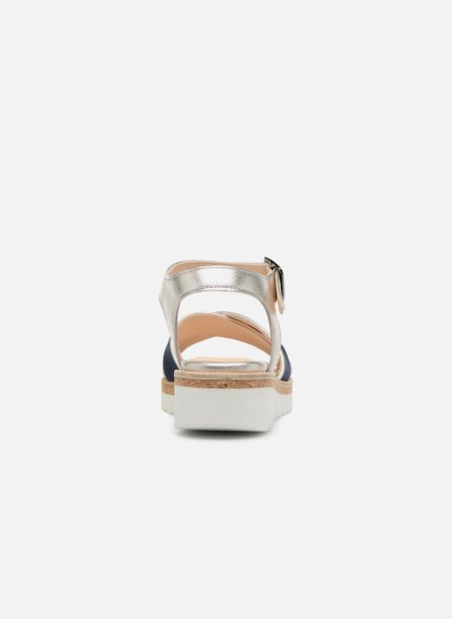 Sandales et nu-pieds Anaki RIMA Bleu vue droite