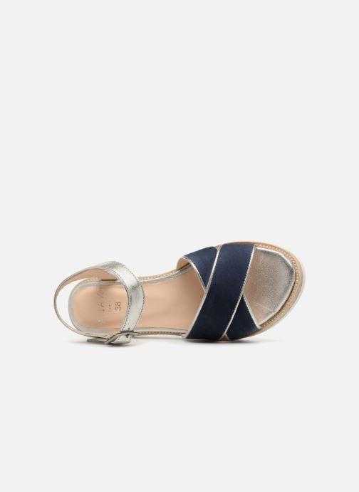 Sandales et nu-pieds Anaki RIMA Bleu vue gauche