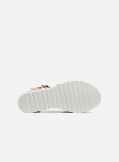 Sandales et nu-pieds Anaki RIMA Bleu vue haut