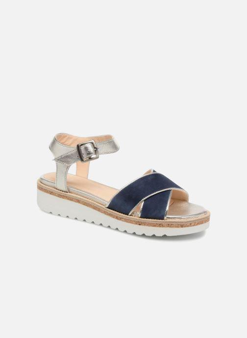 Sandales et nu-pieds Anaki RIMA Bleu vue détail/paire