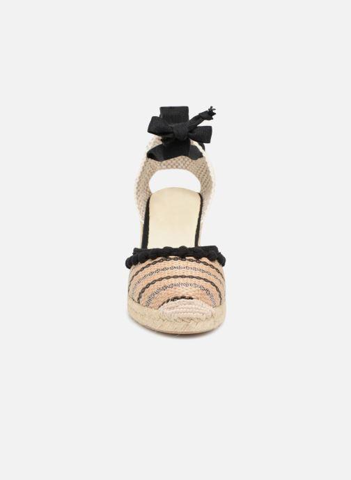 Espadrilles Anaki SPRING Marron vue portées chaussures