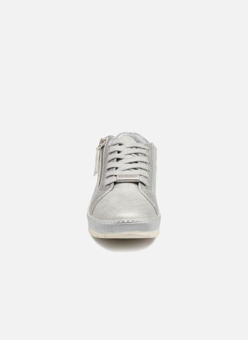Baskets Dockers Fola Gris vue portées chaussures
