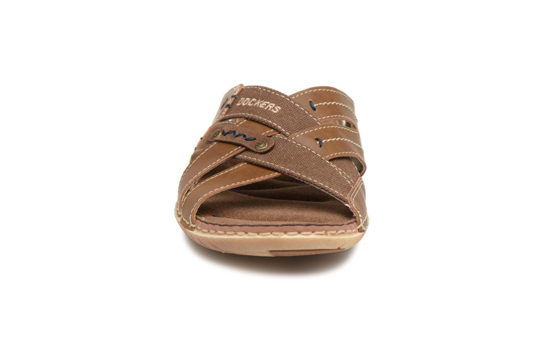 Sandals Dockers Ribin Brown model view