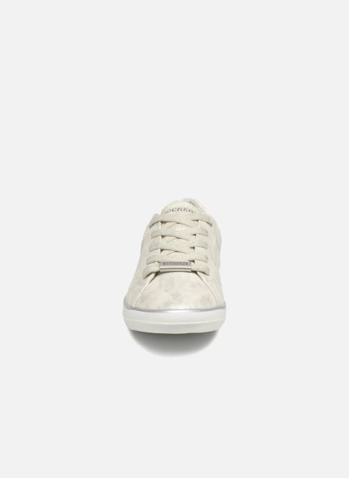 Baskets Dockers Ana Argent vue portées chaussures
