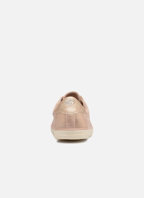 Trainers Dockers Ana Pink view from the right