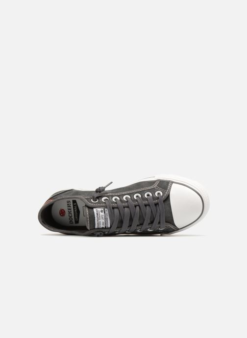 Sneakers Dockers Rimain Grijs links
