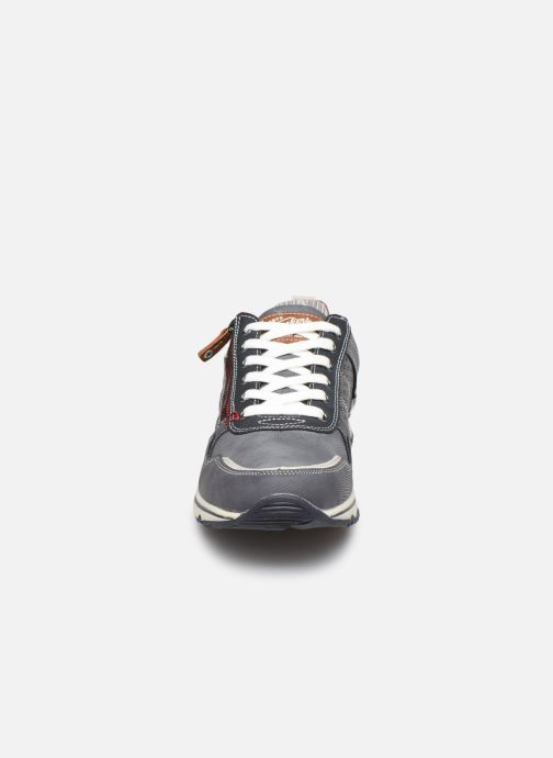 Baskets Dockers Metheu Bleu vue portées chaussures