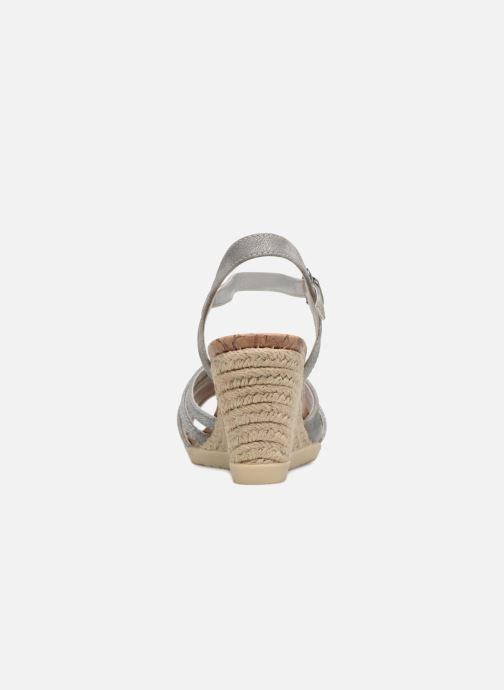 Scarpe di corda Dockers Pola Grigio immagine destra