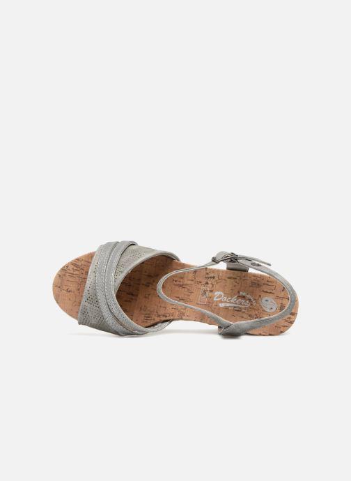 Scarpe di corda Dockers Pola Grigio immagine sinistra