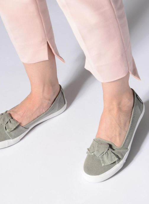 Ballet pumps Dockers Irva Green view from underneath / model view