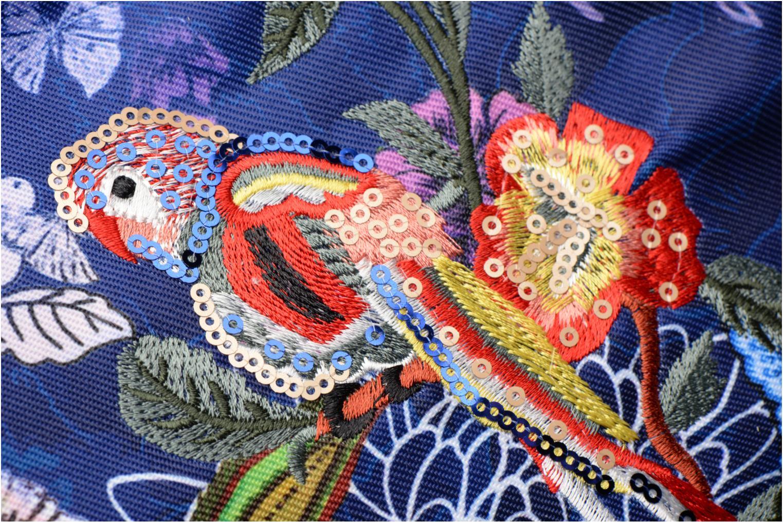 Sacs à main Desigual Bird Palm Rotterdam Bleu vue gauche