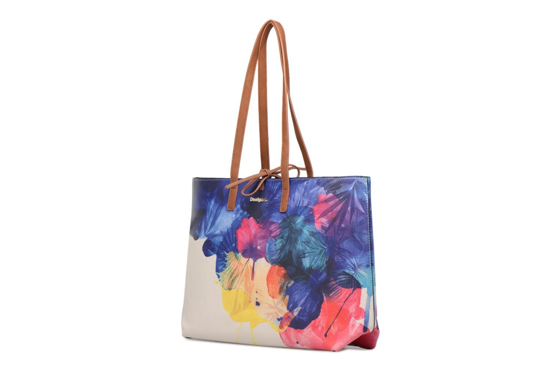 Borse Desigual Corel Seattle Multicolore modello indossato