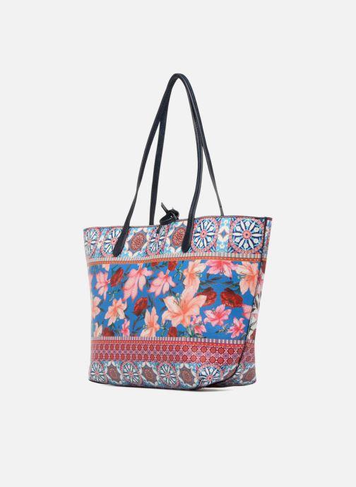 Handbags Desigual Aria Capri Multicolor view from the right