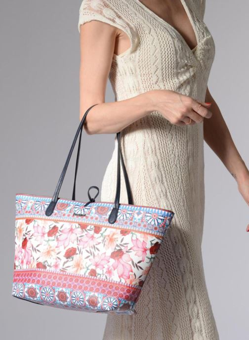 Handbags Desigual Aria Capri Multicolor view from underneath / model view
