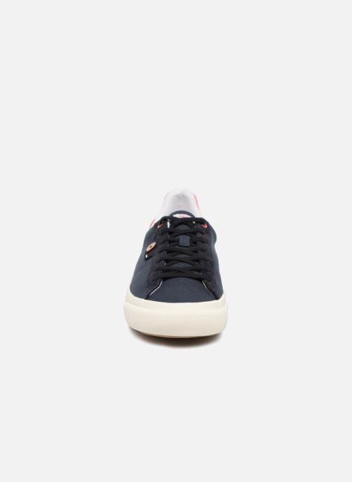 Baskets Faguo SLOE COTTON Bleu vue portées chaussures