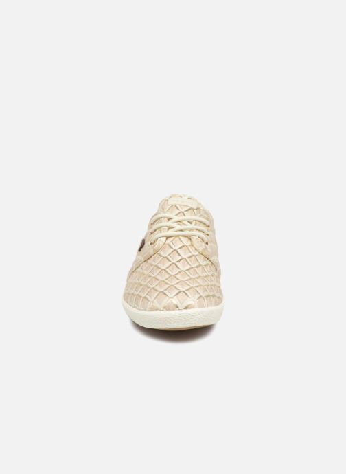 Baskets Faguo Cypress W Synthetic Beige vue portées chaussures