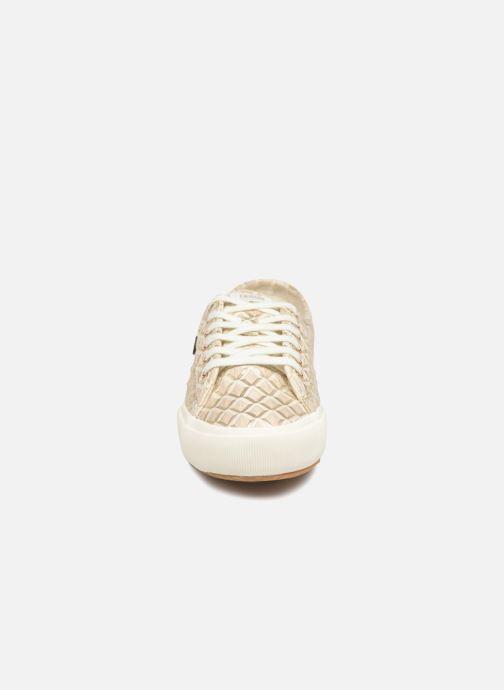 Baskets Faguo Birch W Synthetic Beige vue portées chaussures