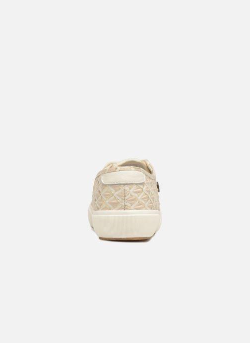 Baskets Faguo Birch W Synthetic Beige vue droite