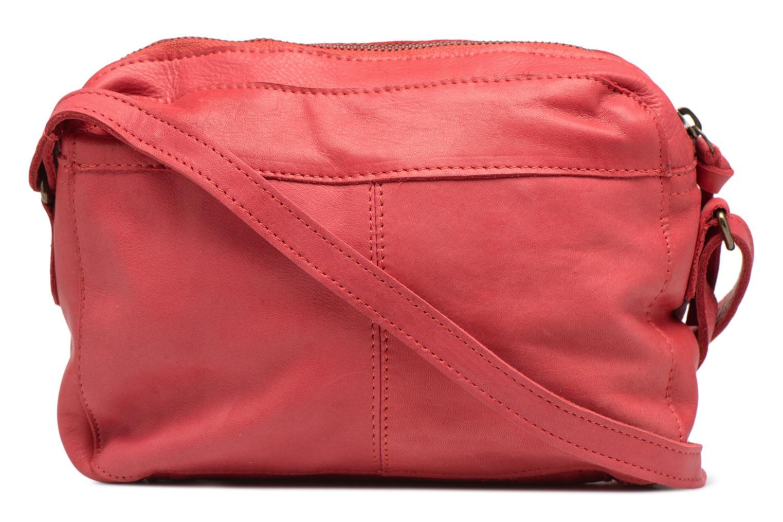 Sacs à main Pieces Izza Leather Crossbody Rouge vue face