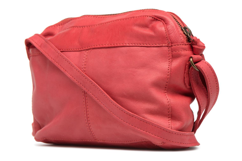 Sacs à main Pieces Izza Leather Crossbody Rouge vue droite