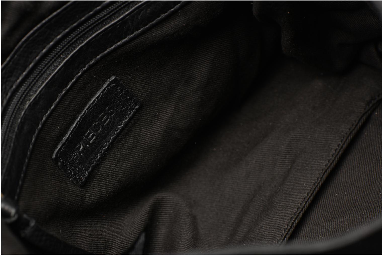 Sacs à main Pieces Isaura Leather Crossbody L Noir vue derrière