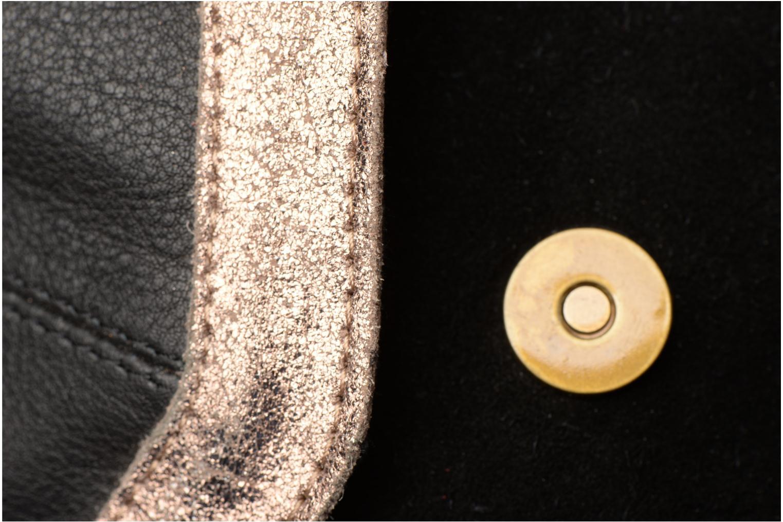 Sacs à main Pieces Isaura Leather Crossbody L Noir vue gauche