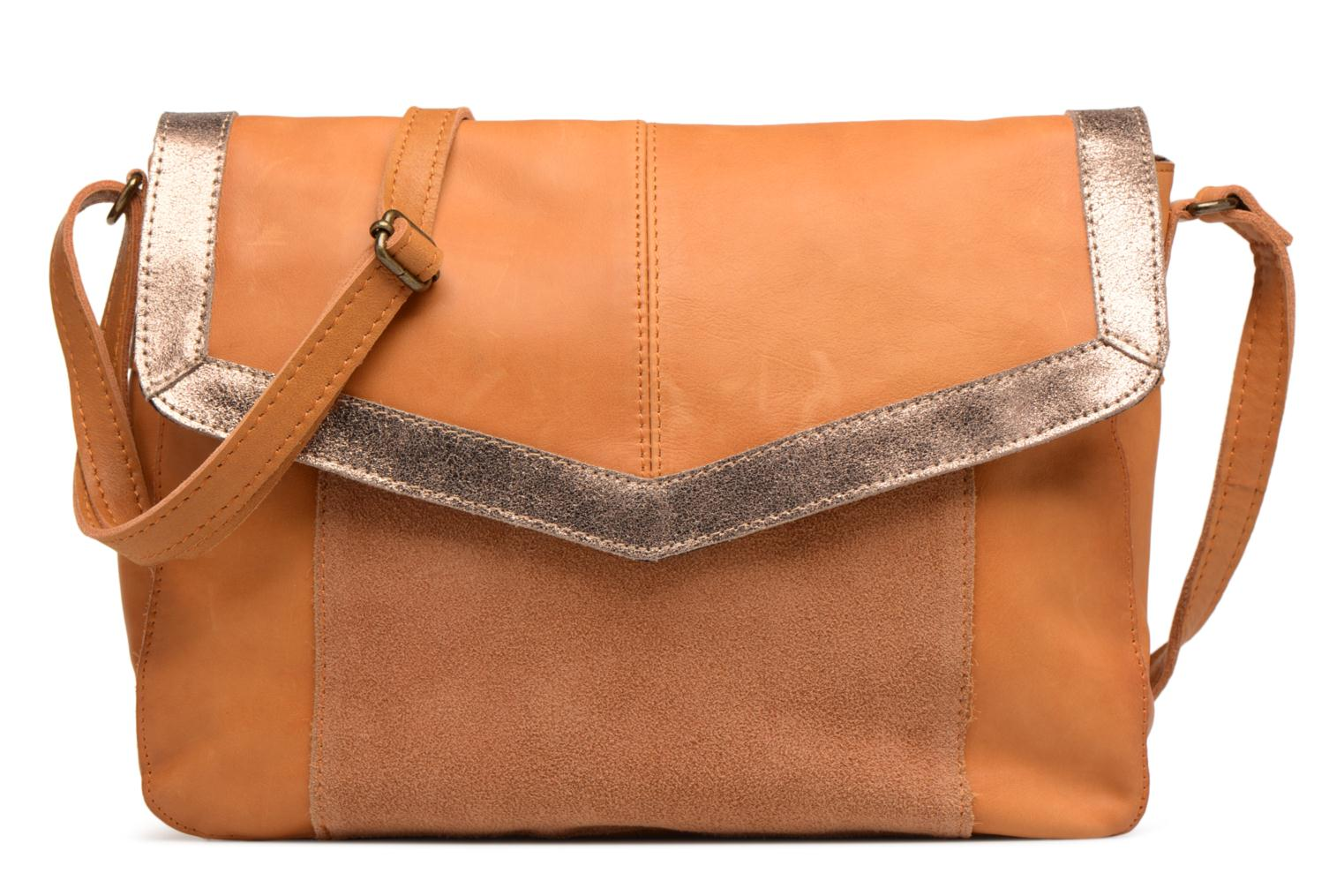 Crossbody Pieces Leather Isaura L Cognac qR7a0RO