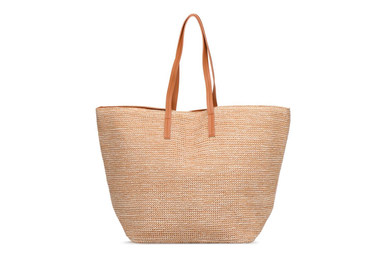Handtassen Pieces Ilana Shopper Beach Beige detail