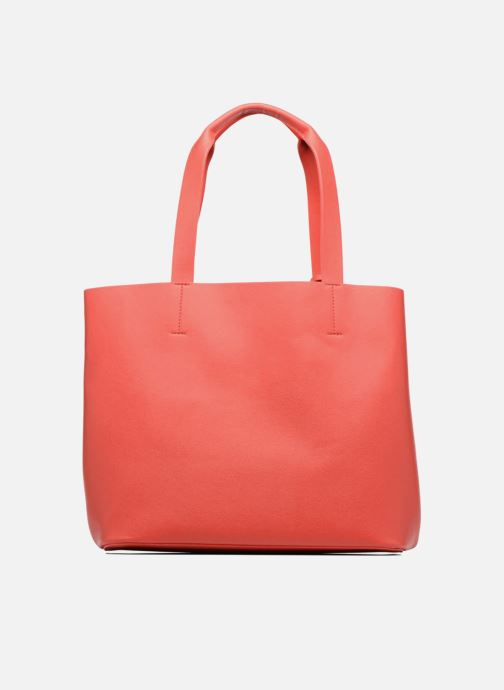 Handtassen Pieces Illu Shopper Rood voorkant