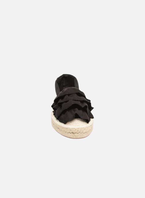 Scarpe di corda I Love Shoes MCDRILLE Nero modello indossato