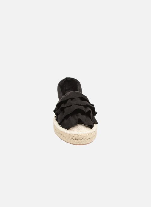 Alpargatas I Love Shoes MCDRILLE Negro vista del modelo
