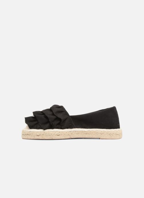 Alpargatas I Love Shoes MCDRILLE Negro vista de frente