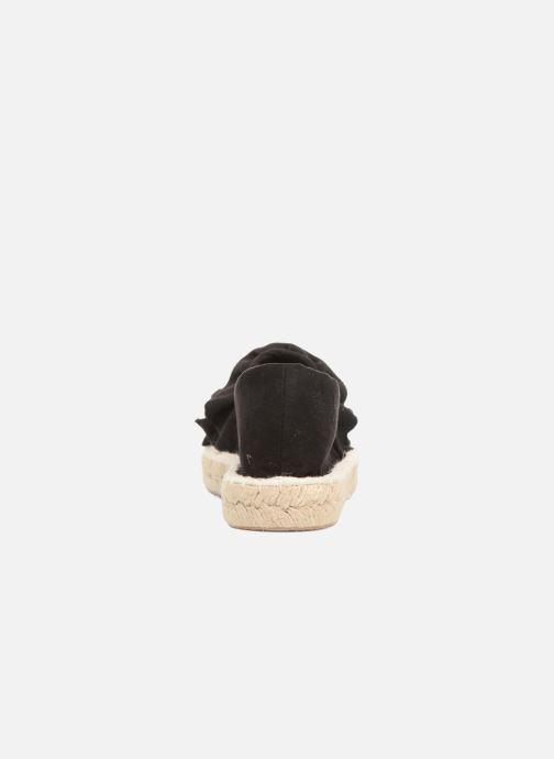 Alpargatas I Love Shoes MCDRILLE Negro vista lateral derecha