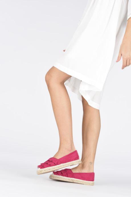 Espadrilles I Love Shoes MCDRILLE Rose vue bas / vue portée sac