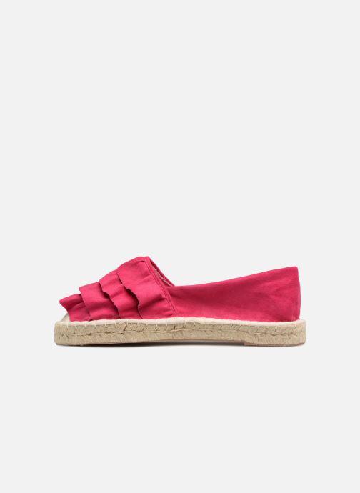 Espadrilles I Love Shoes MCDRILLE Rose vue face