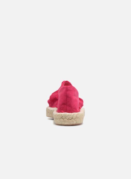 Espadrilles I Love Shoes MCDRILLE Rose vue droite