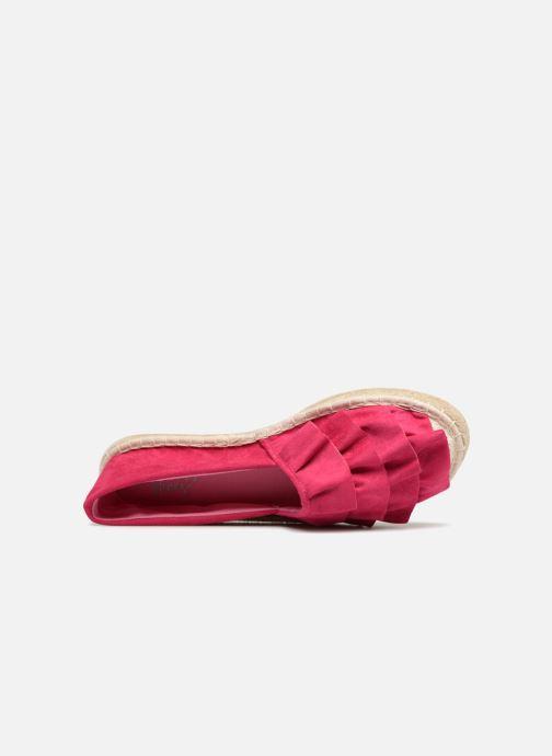 Espadrilles I Love Shoes MCDRILLE Rose vue gauche