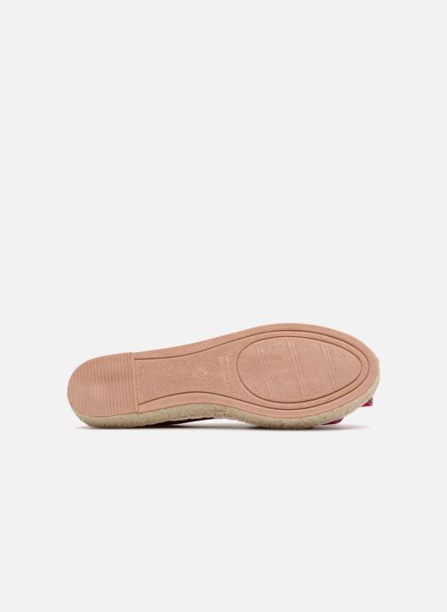 Espadrilles I Love Shoes MCDRILLE Rose vue haut